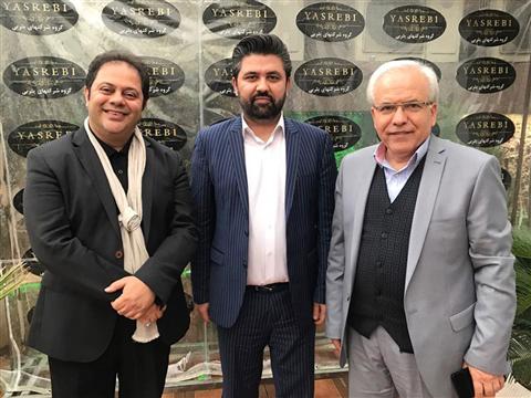 حضور آقای محمدرضا حسینیان در مجموعه شرکتهای یثربی